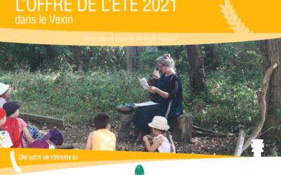 Offre de l'Eté 2021 du Parc naturel régional du Vexin français