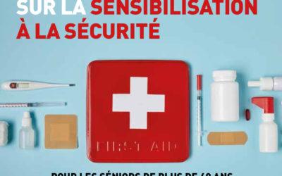 Formation Sécurité PSC1 et PREVINCE (prévention incendie) pour les seniors
